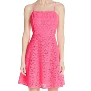 Lilly Pulitzer • Hot Pink Sleeveless Mini Dress